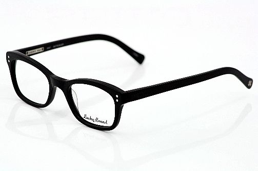 Lucky Brand Andy Eyeglasses Matte Black. Something that suits women ...