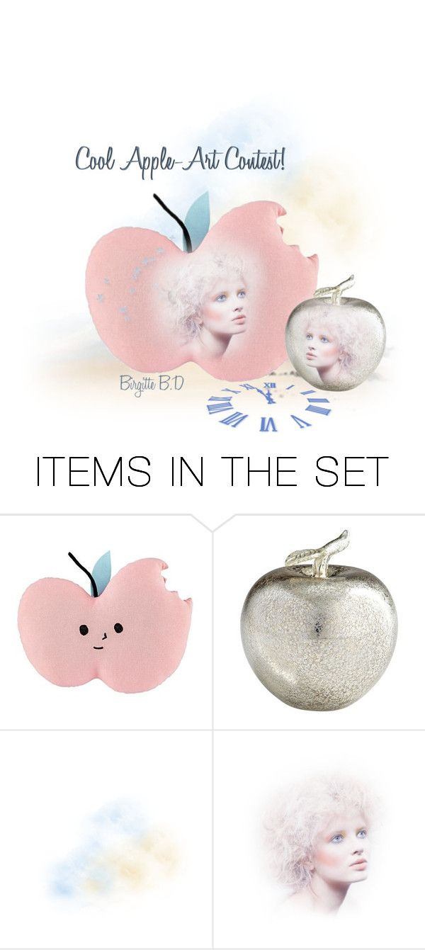 """Apples in Art!"" by ragnhild-bergan ❤ liked on Polyvore featuring art"