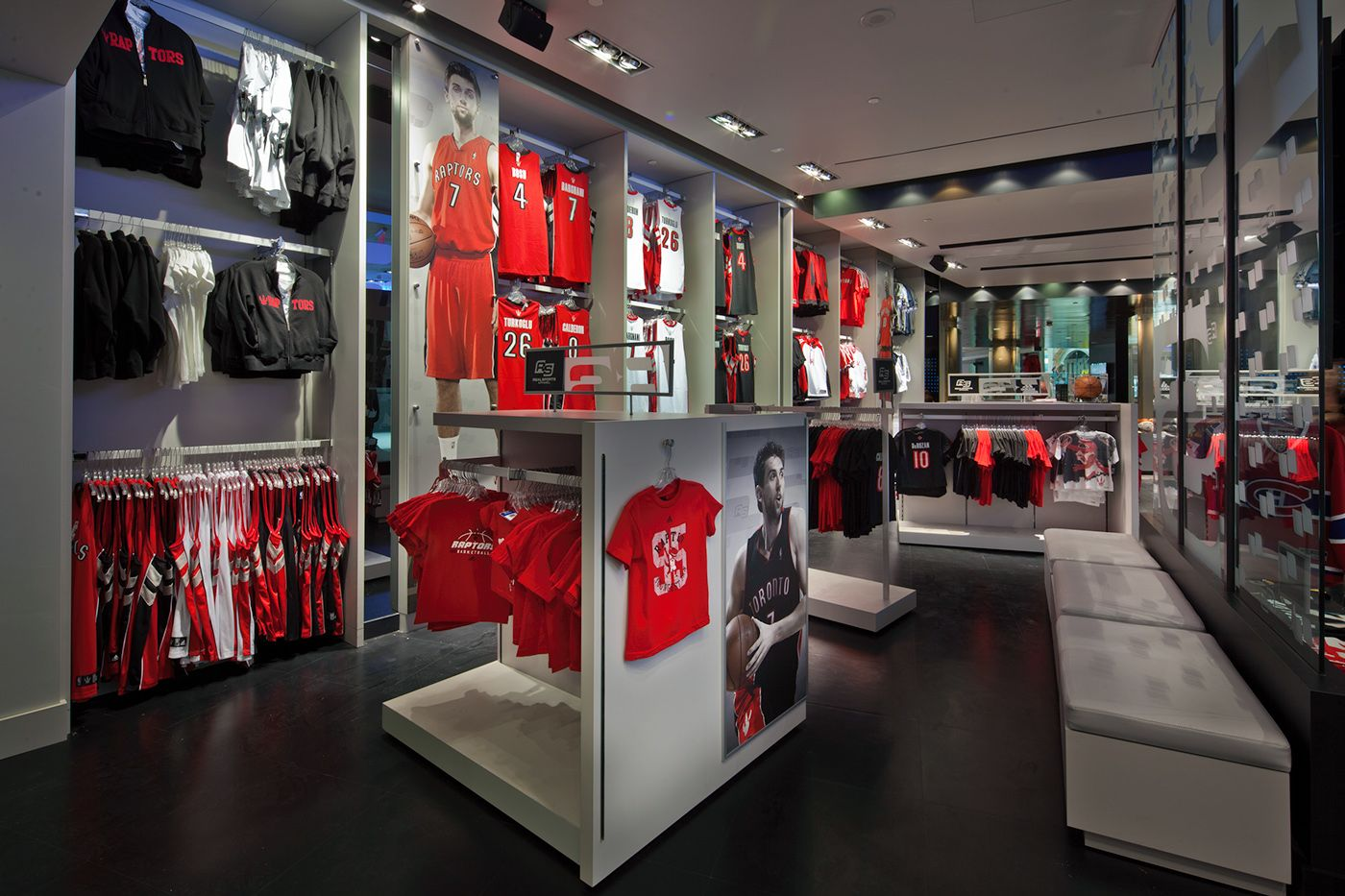 Real Sports Apparel Store Signage on Behance Store