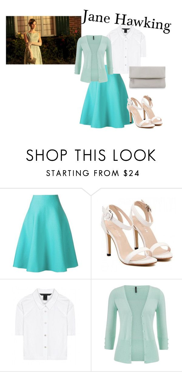 """""""A normal day in the life of Jane Hawking"""" by walking-in-the-wind ❤ liked on Polyvore featuring Le Ciel Bleu, Marc by Marc Jacobs, maurices and Whistles"""
