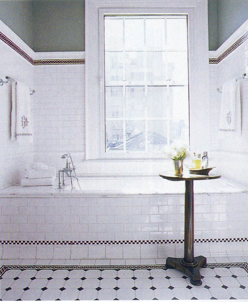 Bathroom Tile Ideas Black And White | Fixxin this old house ...