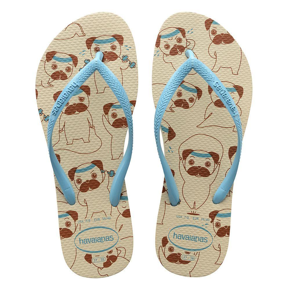 1dc4ec3da472 Havaianas Kids Slim Pets Sandal Beige Blue Price From  23