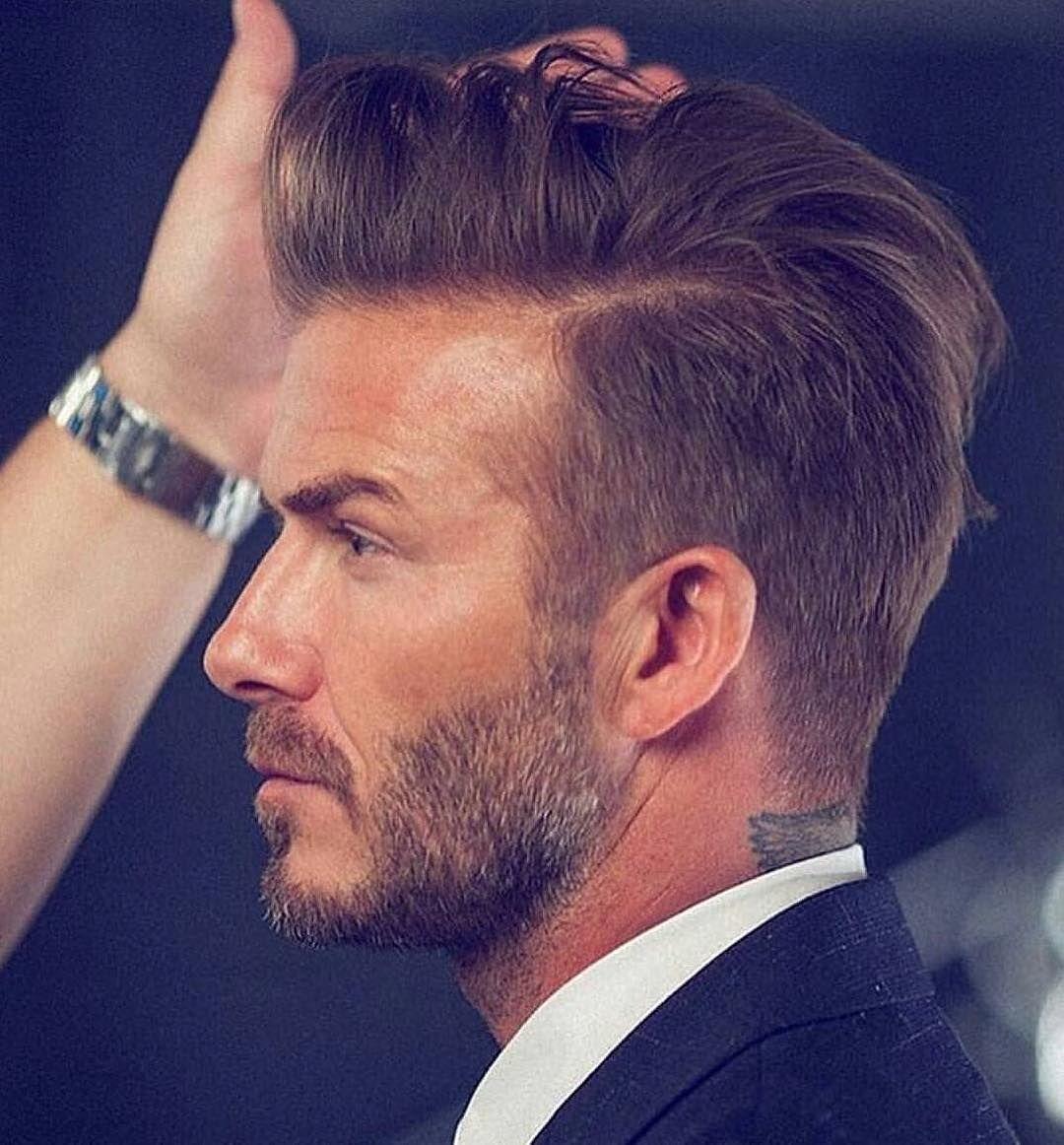David Beckham Inspirierte Frisur Garcons David Beckham Beckham