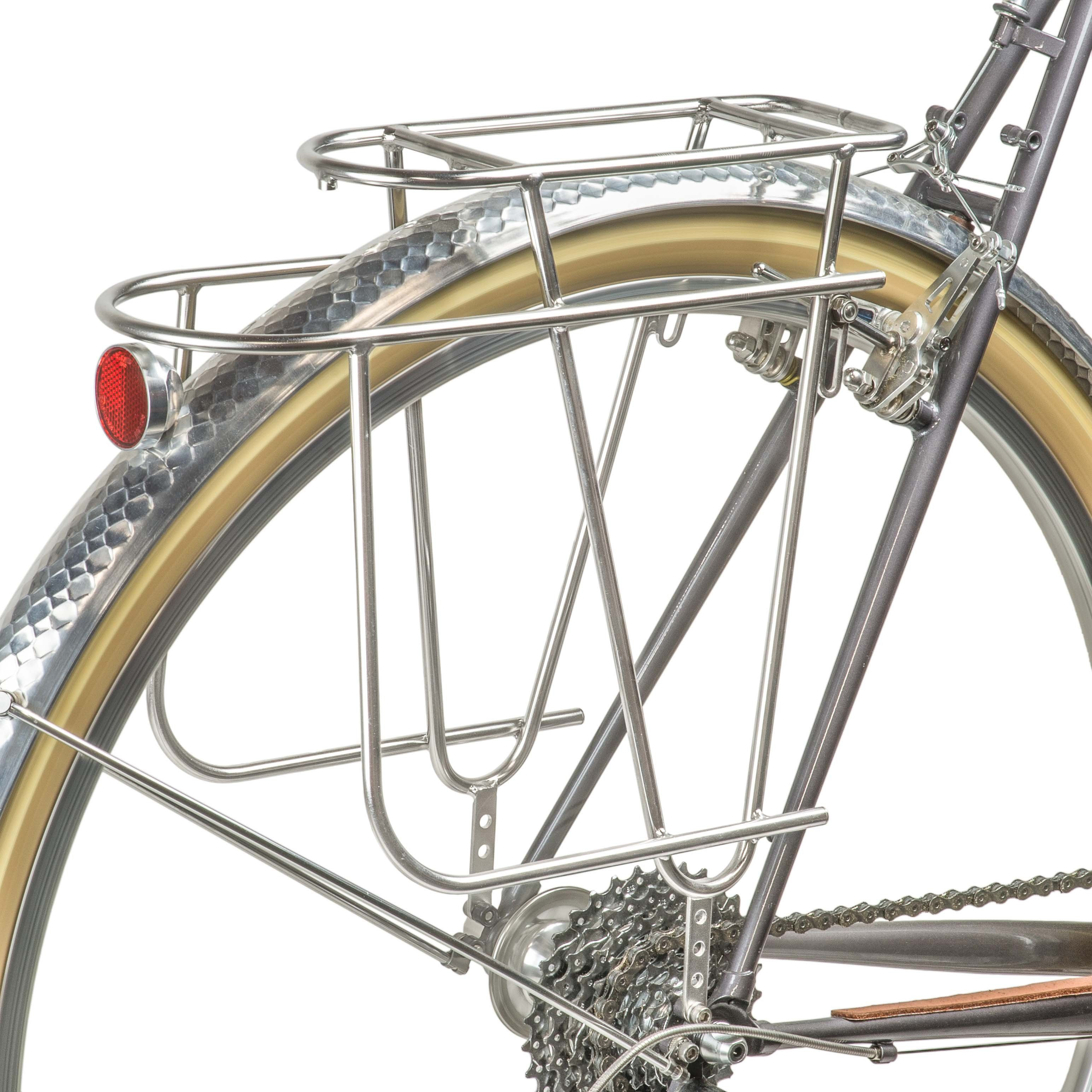 Polished Stainless Steel Velo Orange Constructeur Rear Rack