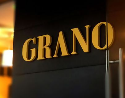 """Check out new work on my @Behance portfolio: """"GRANO / Osteria"""" http://be.net/gallery/59111677/GRANO-Osteria"""