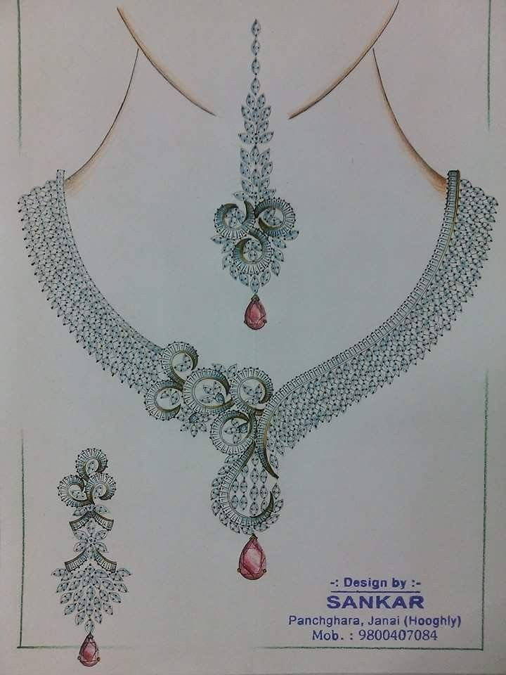 Pin By Firoj On Jewellery Illustration Iv Jewelry Drawing Jewelry Design Drawing Jewellery Design Sketches