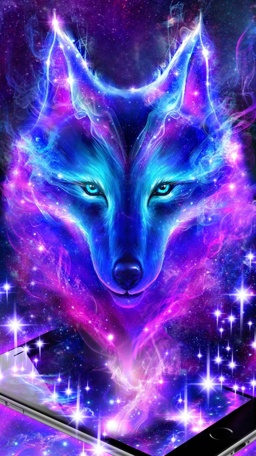 Download Spirit Wolf Wallpaper Android On High Quality Wallpaper On Hdwallpaper9 Com Iphone Android Wallpaper Galaxy Wolf Wolf Wallpaper Wolf Spirit Animal