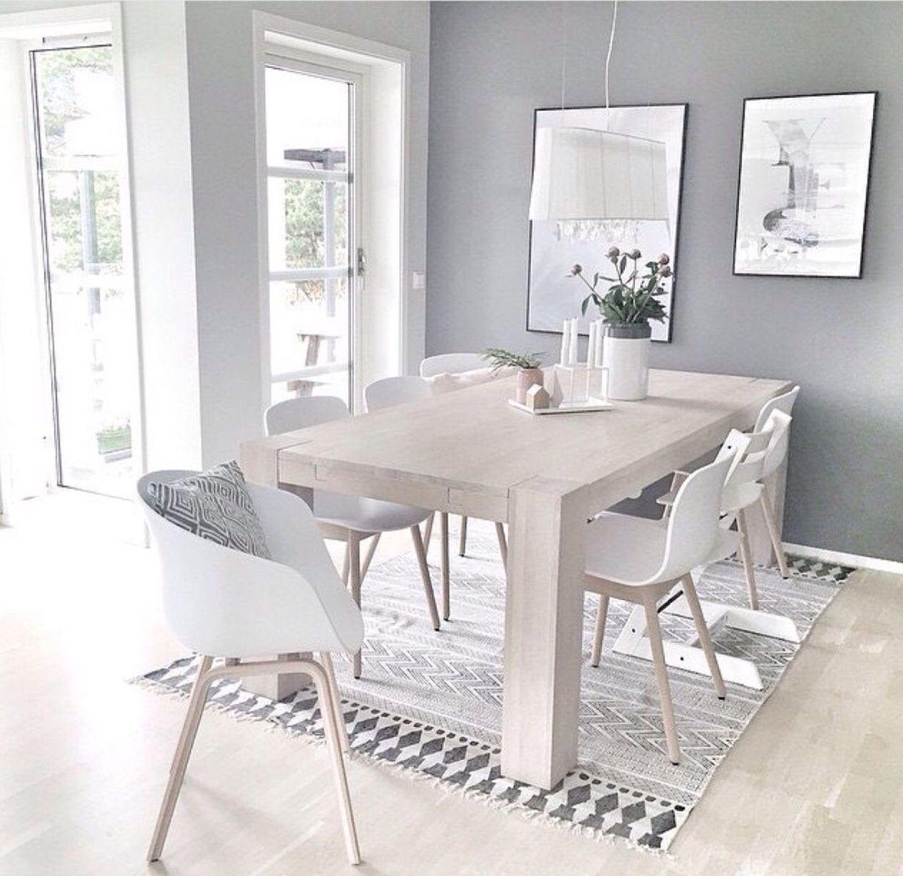 dining table styling. | Comedores | Comedor minimalista, Decoración ...
