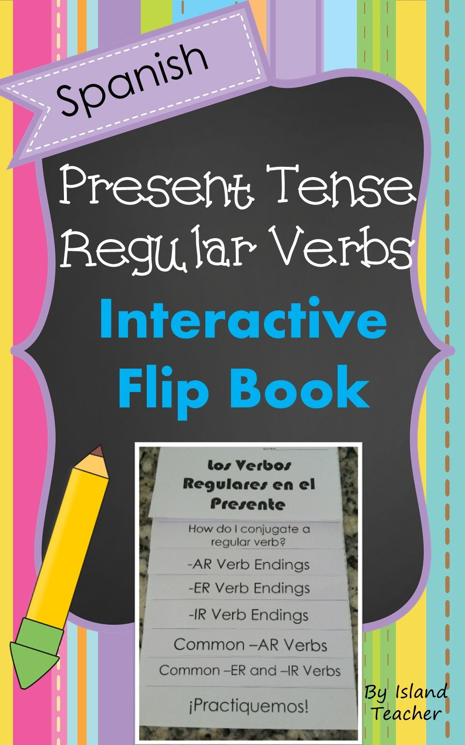 Spanish Regular Present Tense Verbs