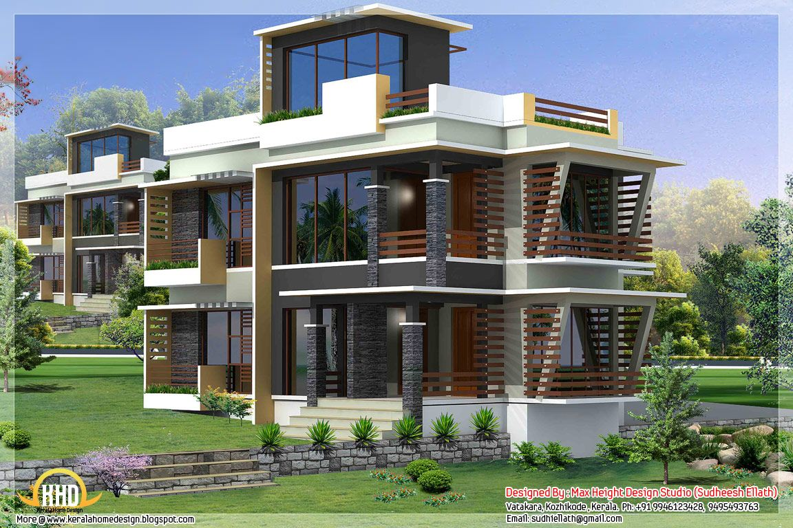 modern house plan designs 2012 - House Plans And Designs