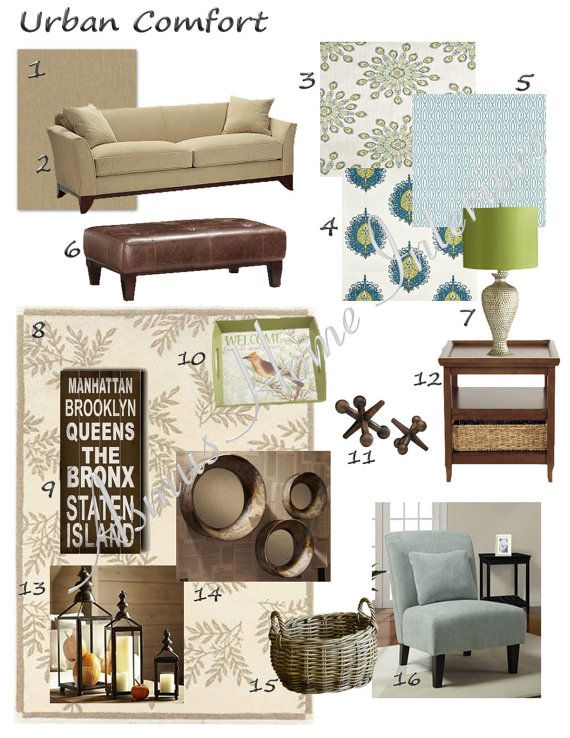 Interior Decorating Ideas Edecorating Plan Design Inspiration Design Concept Board Custom