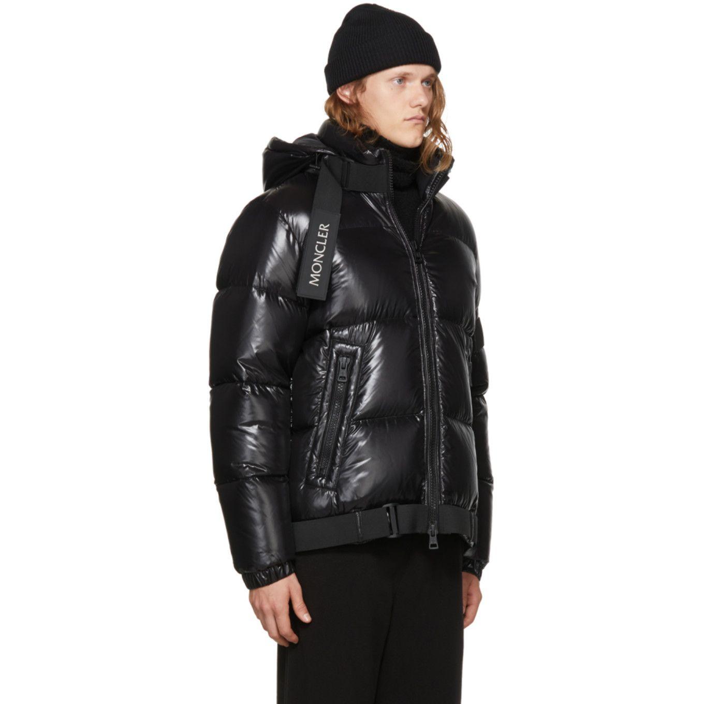 f8bb2366b Moncler C - Black Down Brook Jacket | Fashion | Moncler, Jackets ...