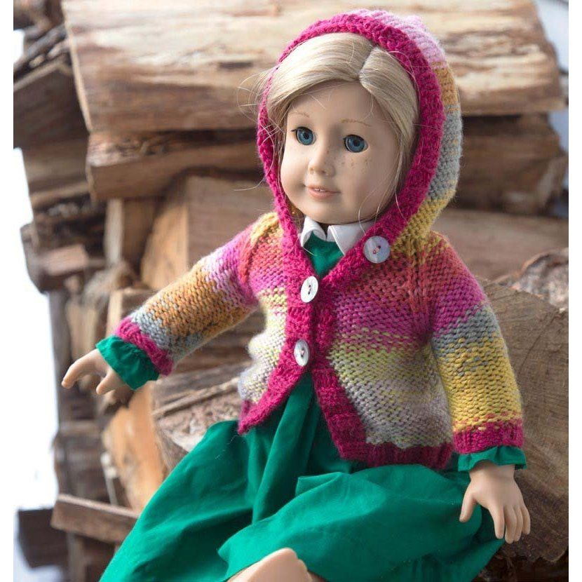 Fiona Doll Hoodie in Classic Elite Yarns Liberty Wool. Discover more Patterns by Classic Elite Yarns at LoveKnitting. We stock patterns, yarn, needles and books from all of your favorite brands.