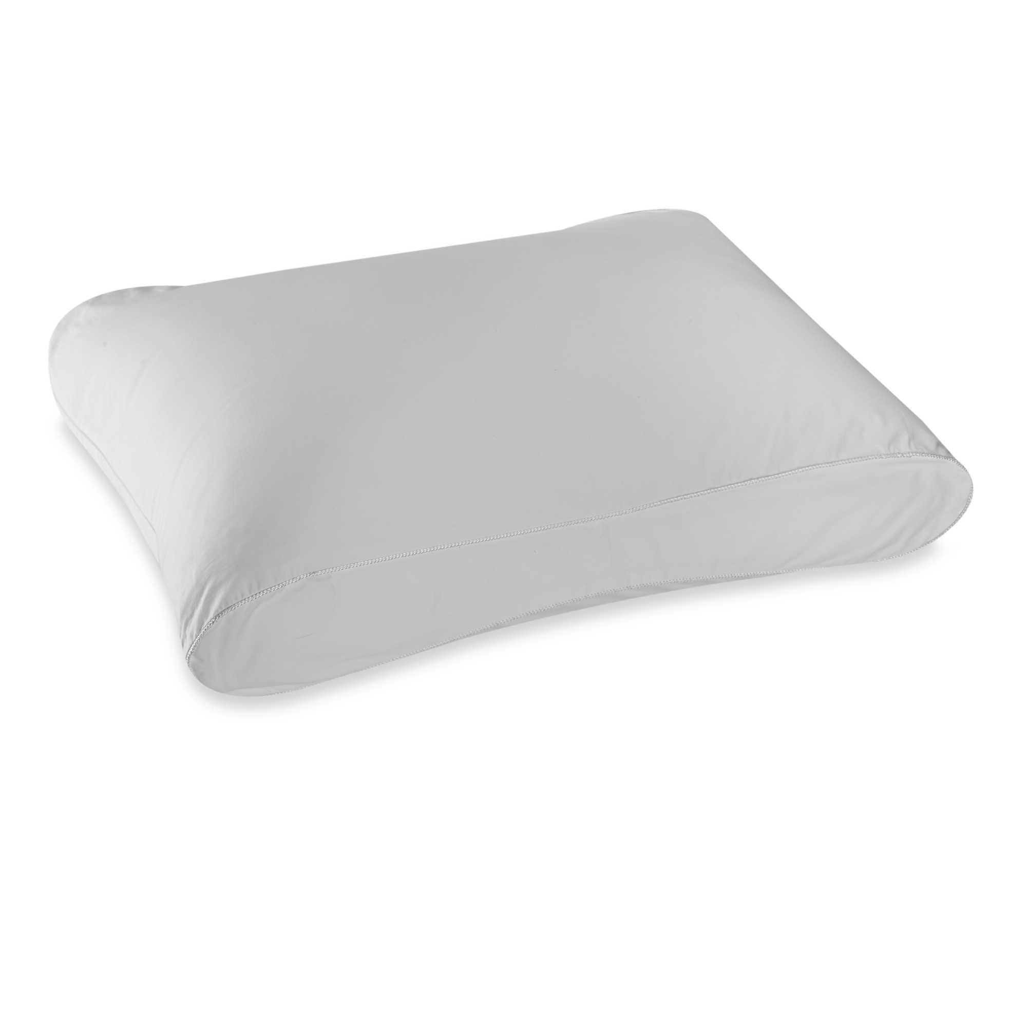 gelmax and reg gallery bath beyond core htm therapedic bed contour pillow cervical bedding trade tri