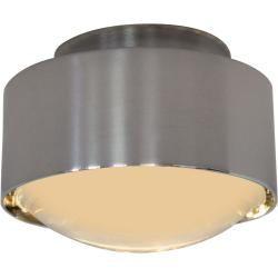 Photo of Top Light Puk Maxx Plus Led Wand- und Deckenleuchte, mit matter Linse, Nickel matt Top LightTop Ligh