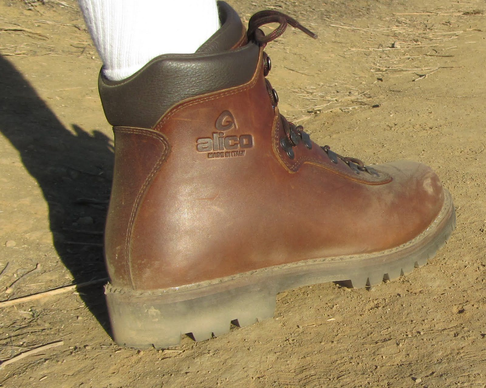 welted hiking boots
