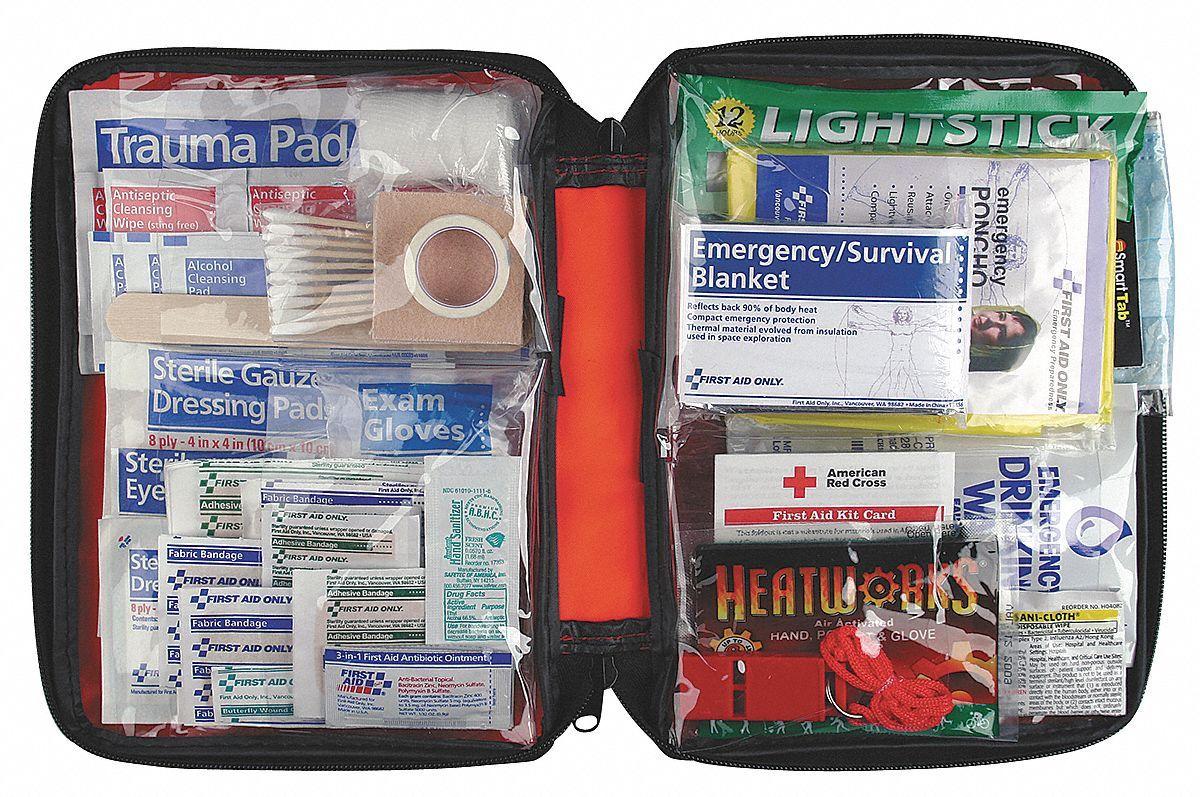 American Red Cross Emergency Preparedness Kit, Number of Components 106, Bulk Kit Type Model: RC-562