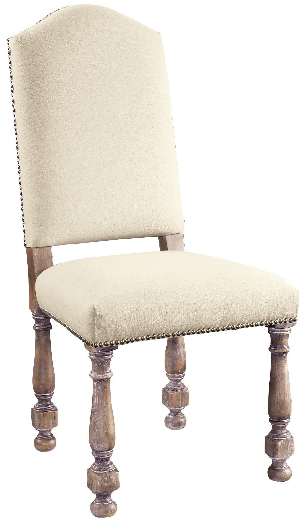 Accentrics Home Amethea Dione Side Chair With Linen