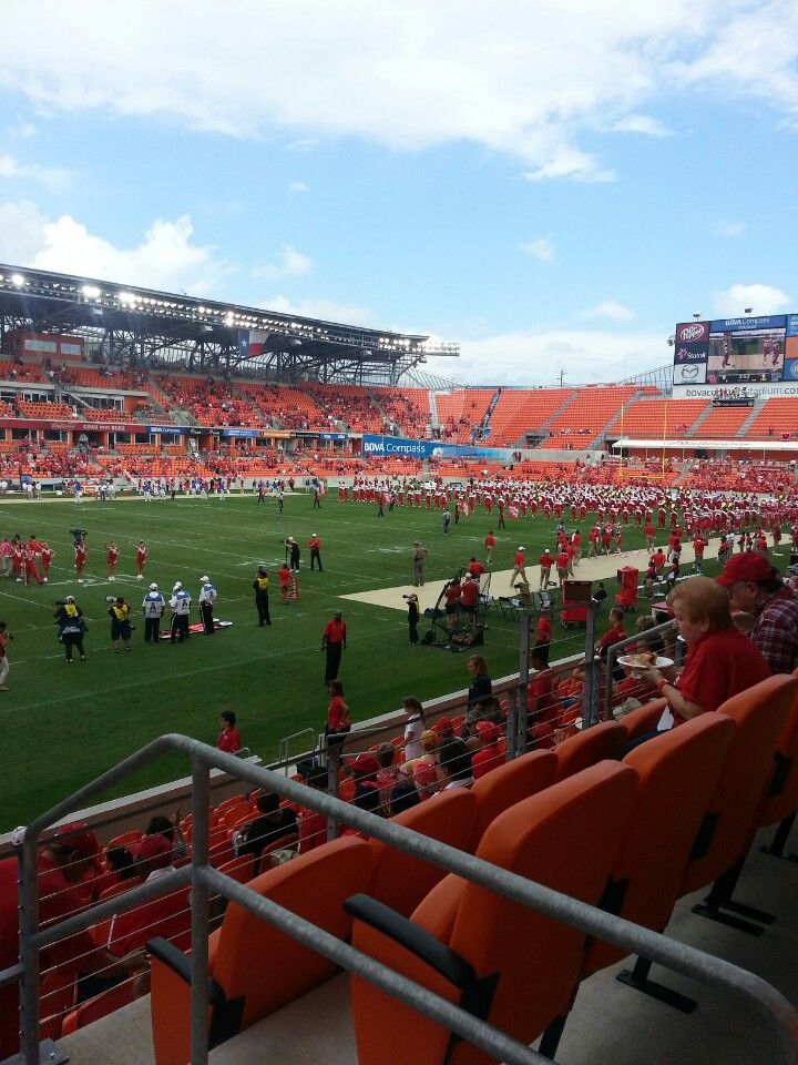 Bbva Compass Stadium Seating : compass, stadium, seating, Compass, Stadium, Section, Stadium,, Soccer