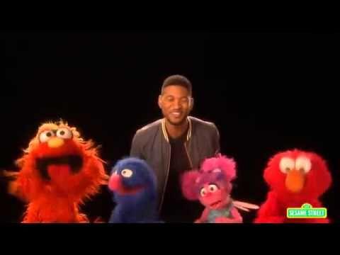 Sesame Street Usher S Abc Song Preschool Music Abc Songs Abc Activities