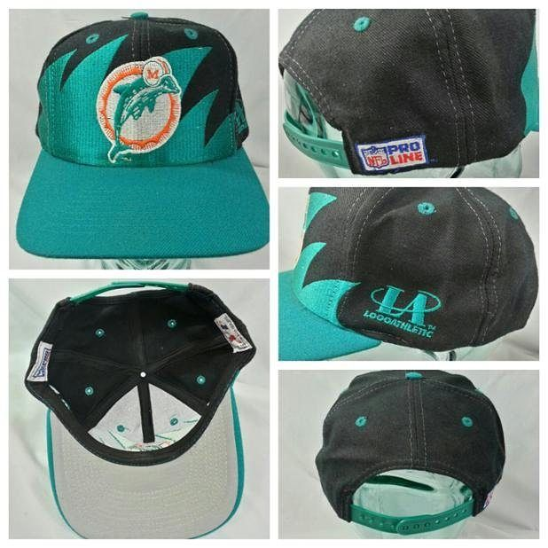 554eefd035111 Vintage 90s Miami Dolphins Sharktooth Logo Athletic Snapback  44 free  shipping on Etsy  thriftstigators