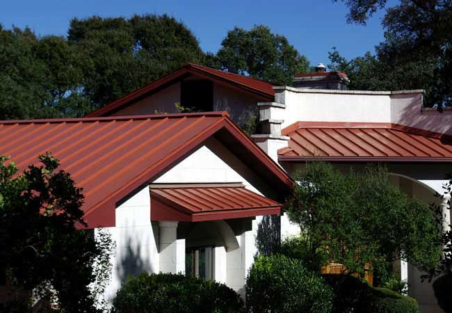 Residential Project Gallery Central Texas Metal Roofing Supply Co Inc Metal Roof Exterior Design House Exterior