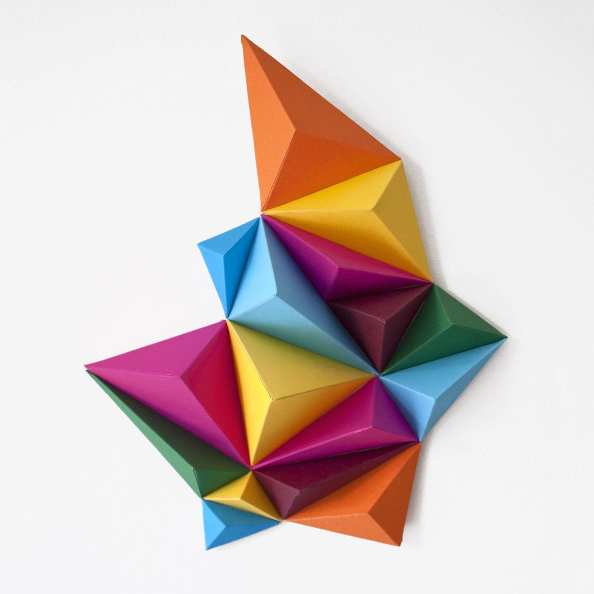 Geode series anna trundle portfolio the loop paper paper geode series anna trundle portfolio the loop origami artorigami jeuxipadfo Images