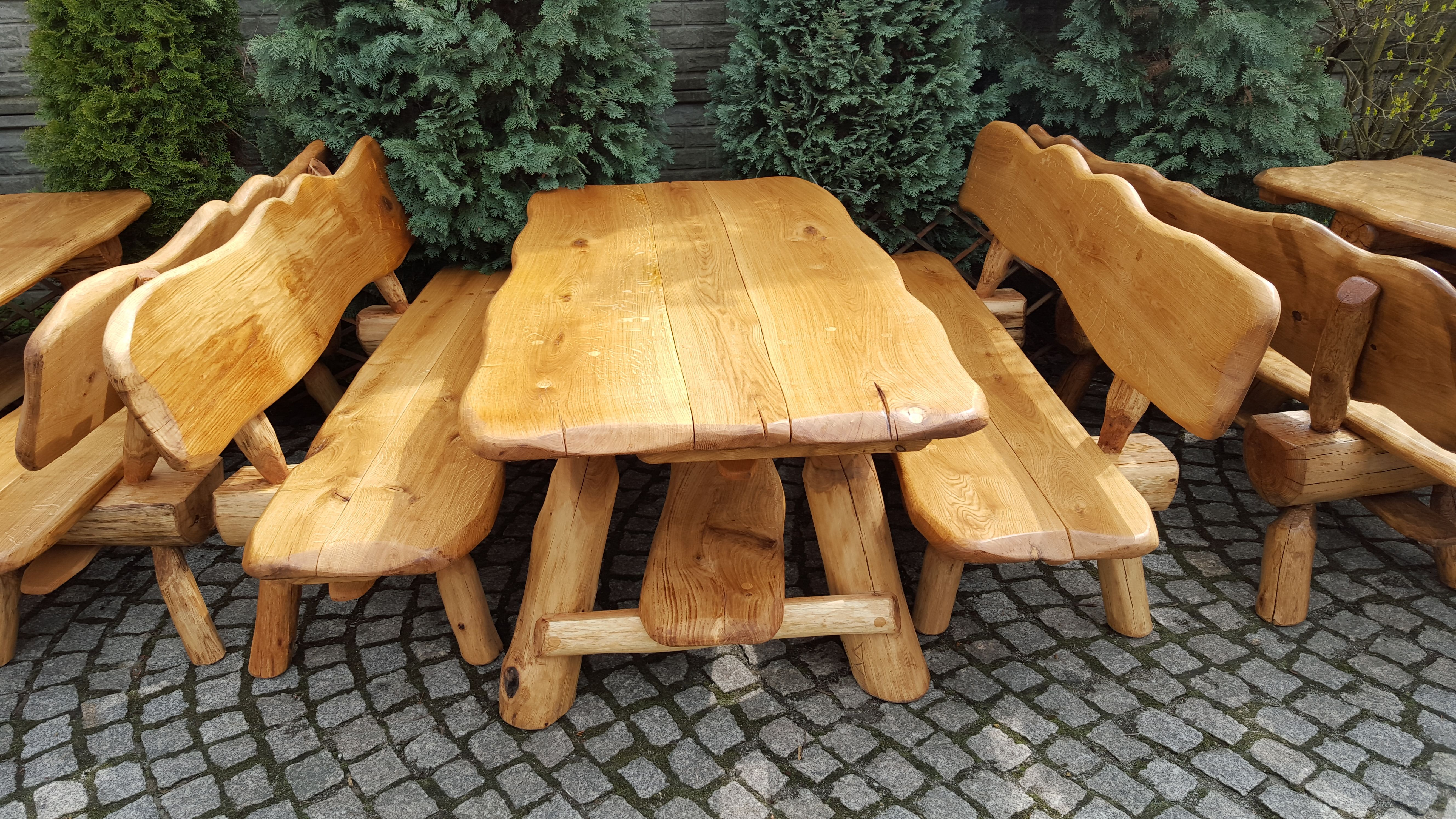 Gartengarnituren Aus Holz Massiv In 2021 Gartengarnitur Holz Gartenbank Holz Massiv Holz