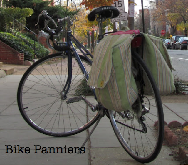 Making Panniers From Reusable Grocery Bags Bike To Shop Day