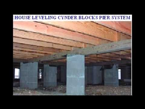 Mobile homes concrete slab pier and beam foundation for Pier beam house