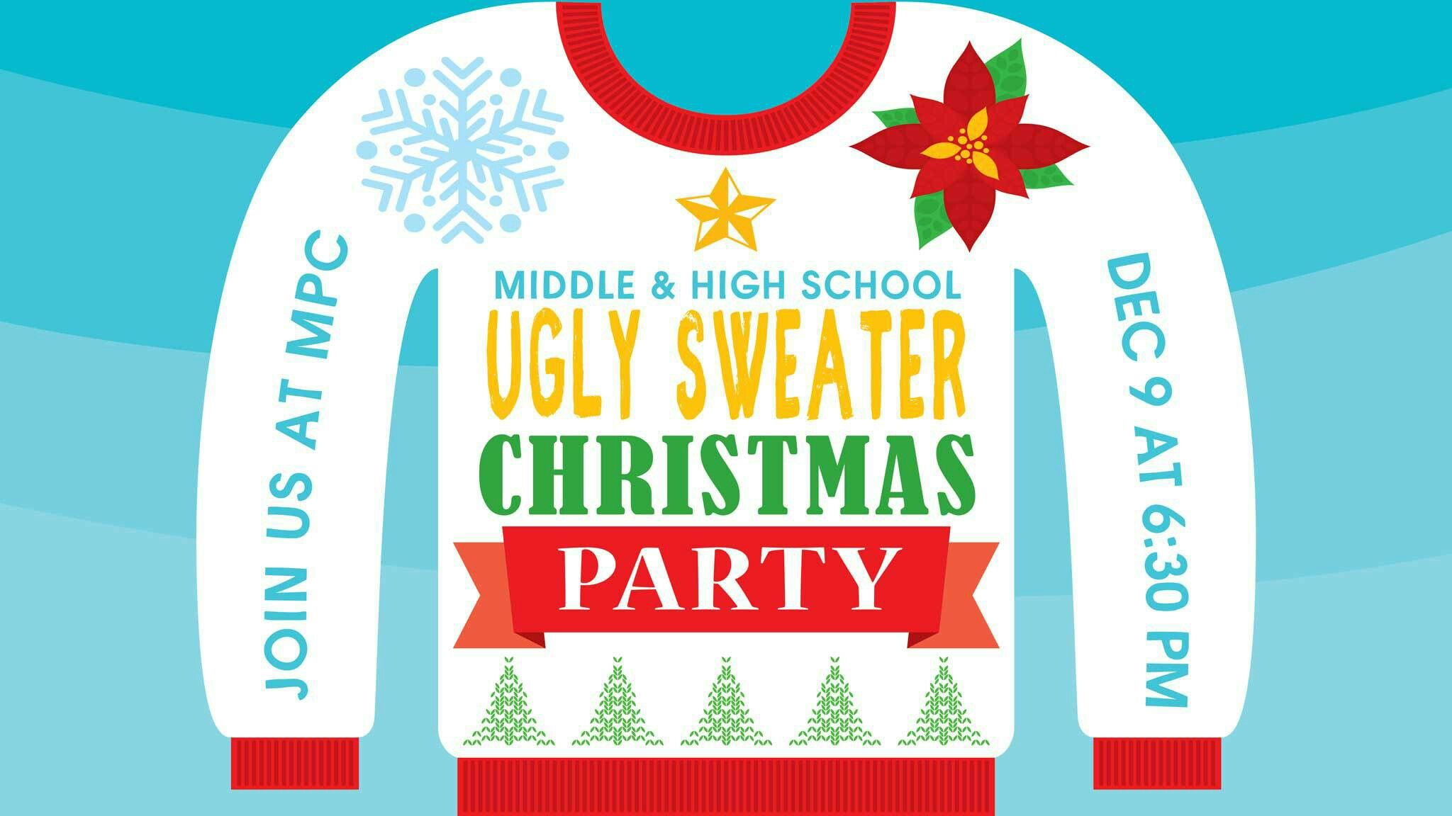 ugly christmas sweater party decorations