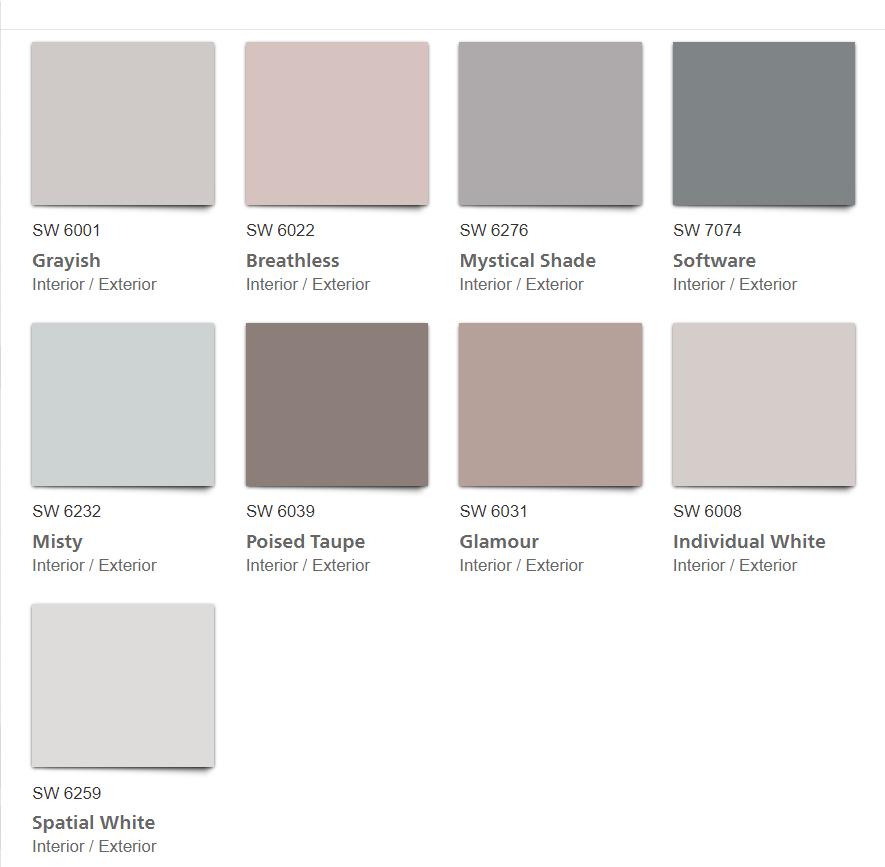 Sw Mantra 2020 Palette Kitchann Kitchen Studio Of Naples Trending Paint Colors Paint Trends Taupe Paint Colors