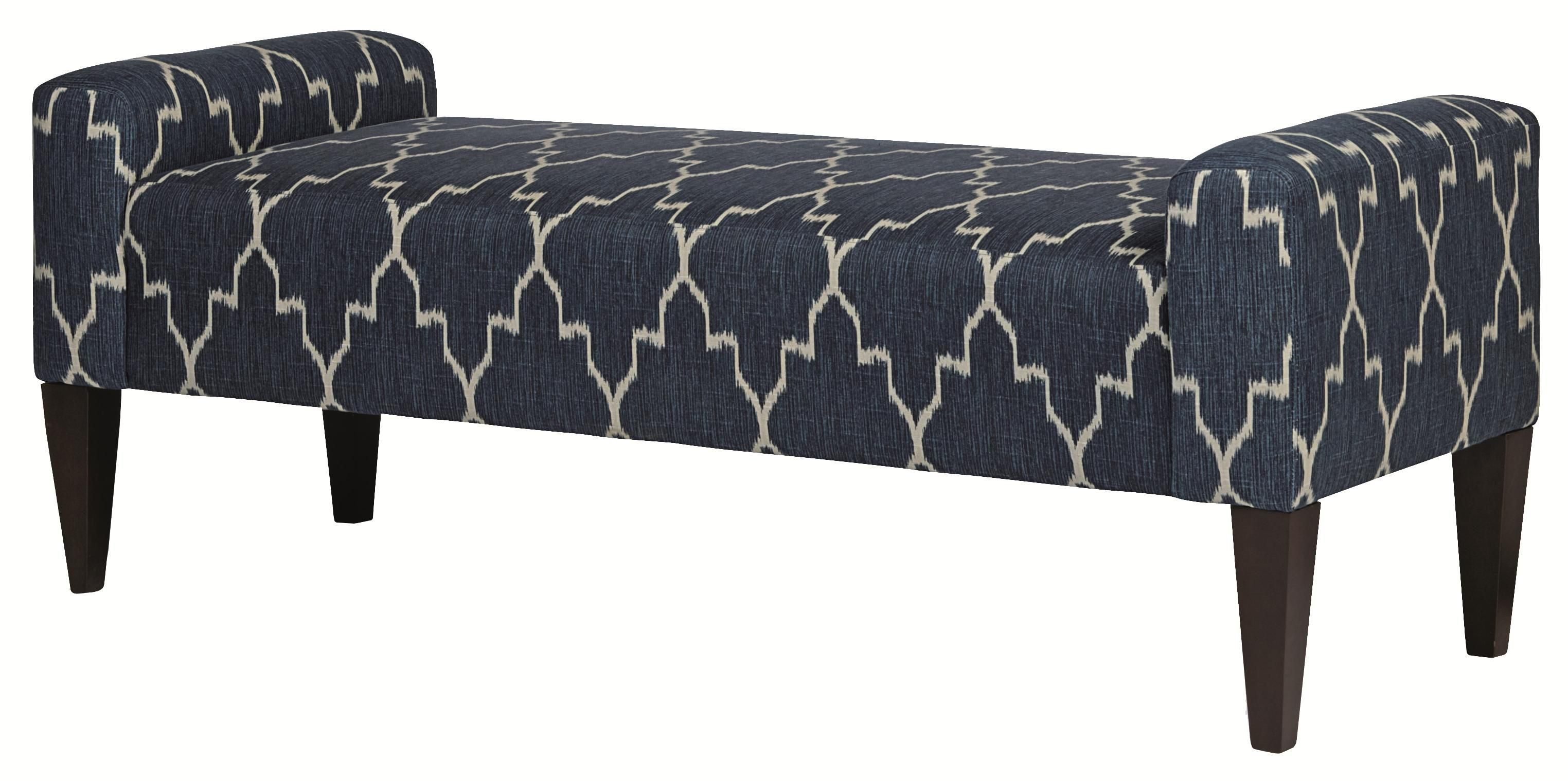 Upholstered Accents Sudbury Bench By Bernhardt