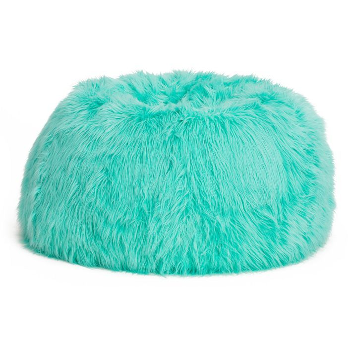 This Fluffy Beanbag Matches Our Branding Colours Www Zenhanceyourhome Com Want Bean Bag Chair Turquoise Room Teal Rooms