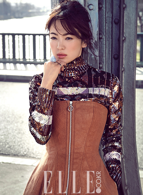 Korean Actress Song Hye Kyo Dior Pre Fall Elle Magazine June 2015 Photoshoot Fashion Location