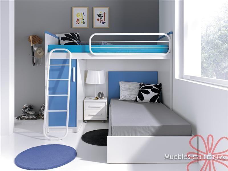literas juveniles modernas - Buscar con Google  Dormitorios...  Pinterest
