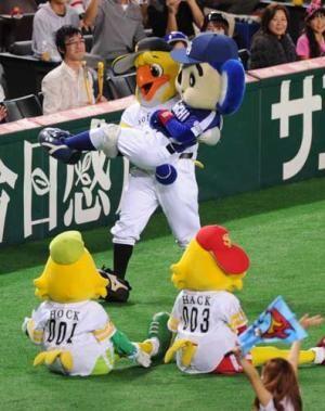 中日 ドアラ 最後もだっこ 日本s プロ野球ニュース 野球