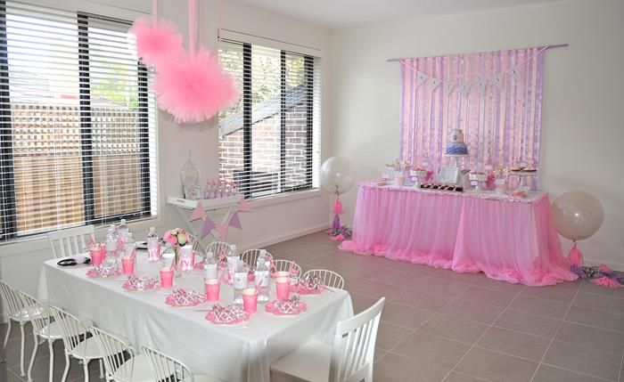 Charmant Princess Birthday Party Planning Ideas Cake Decorations Supplies Idea