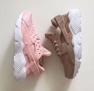 shoes, nike air huarache, huarache, pastel sneakers