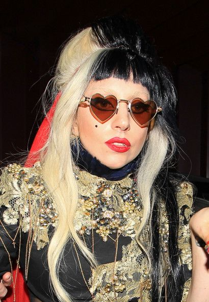 fdc0dfbc0c Lady Gaga Sunglasses Ever wondered what Stephanie Germanotta s (aka Lady  Gaga s) Sunglasses Collection looks like  See Gaga s full collection of  glasses and ...