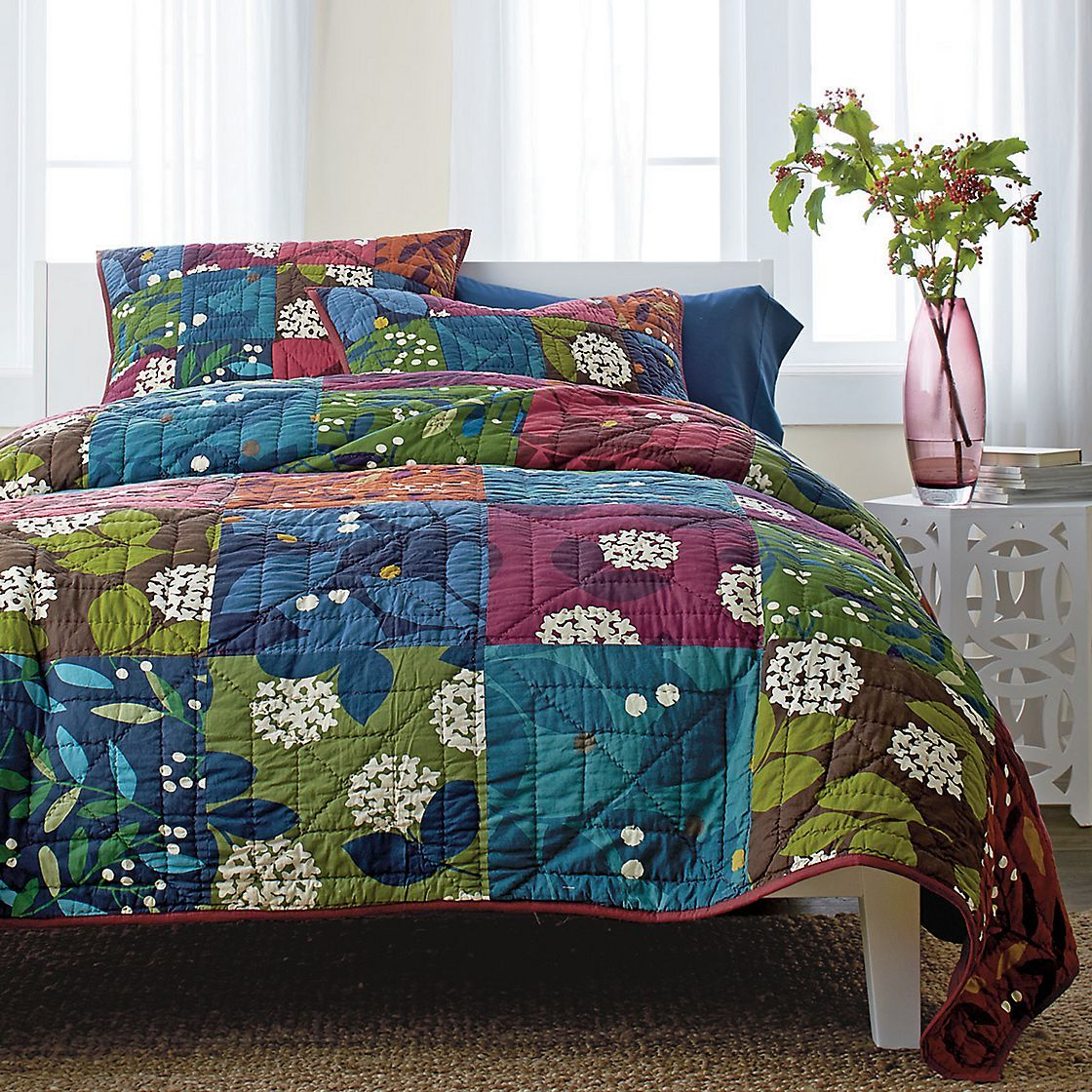 Bed sheets designs patchwork - Jane Patchwork Quilt The Company Store