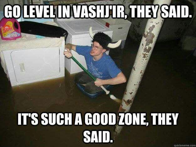 Go level in Vashj'ir