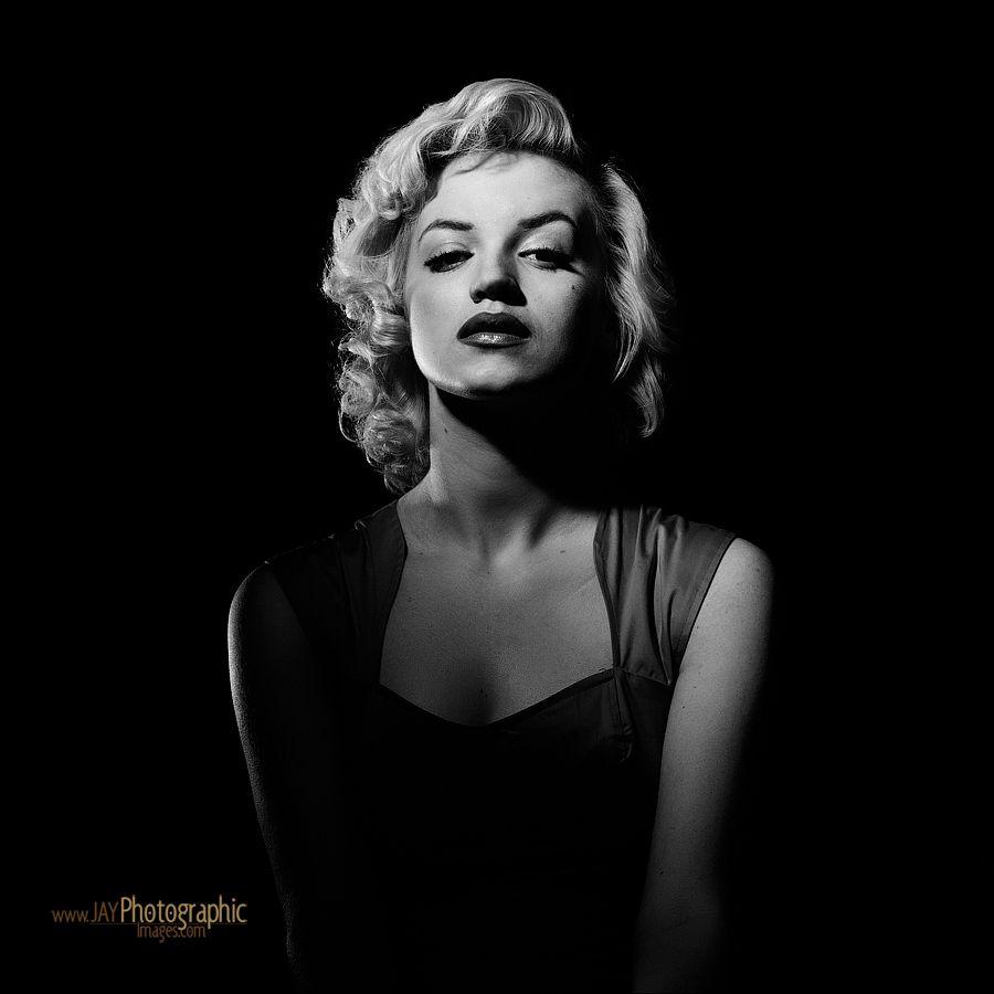 Marilyn Monroe Hollywood Glamour Portraiture Shoot Portrait Classic Hollywood Glamour Photography