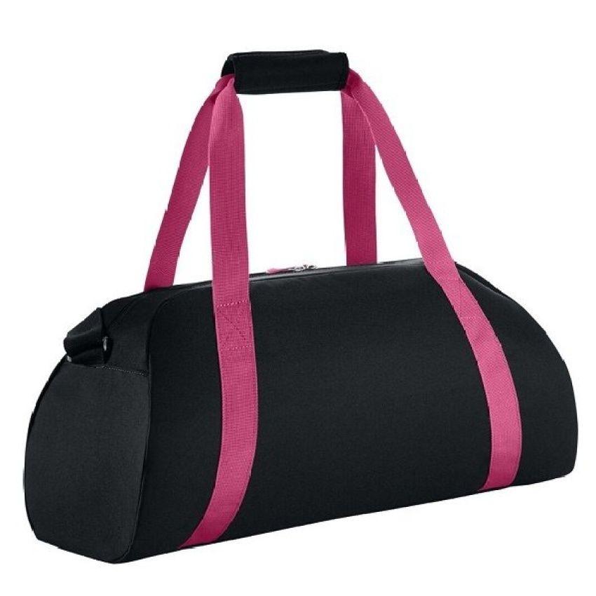 Nike Gym Club Womens Training Duffel Bag ( Black/Pink/B.Mango ...