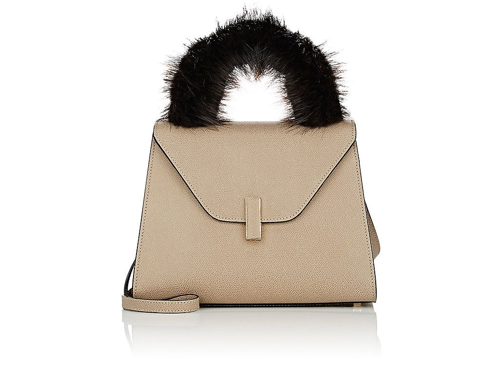 Valextra Fur Handle Cover Valextra Bags Hand Bags Fur Valextra Fur Bags