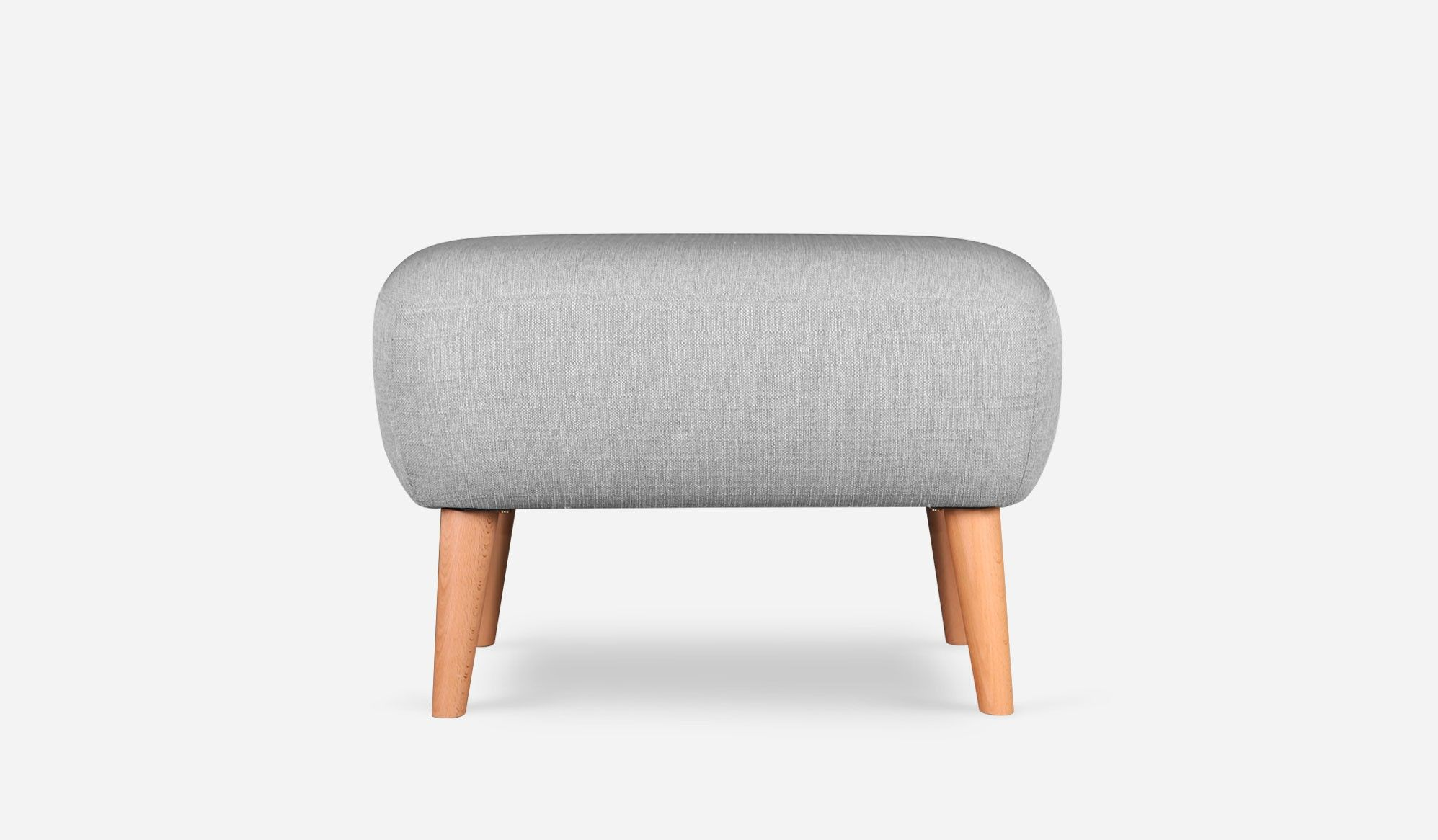 I saw this and fell in love. Naomi Ottoman, Light Gray by Castlery ...