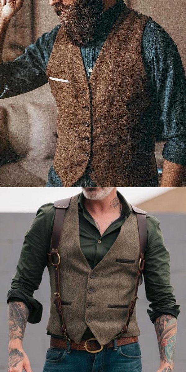 Men's Vests #2019fallfashiontrends