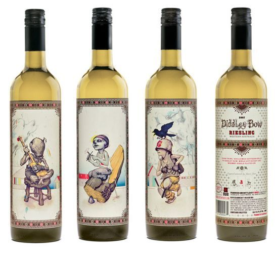 These labels really make my imagination run wild more great - wine label