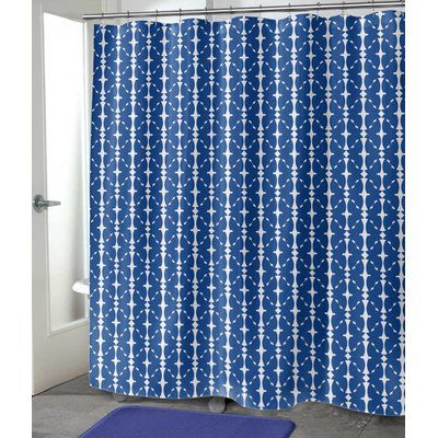 Bloomsbury Market Demina Shower Curtain Size 90 H X 70 W