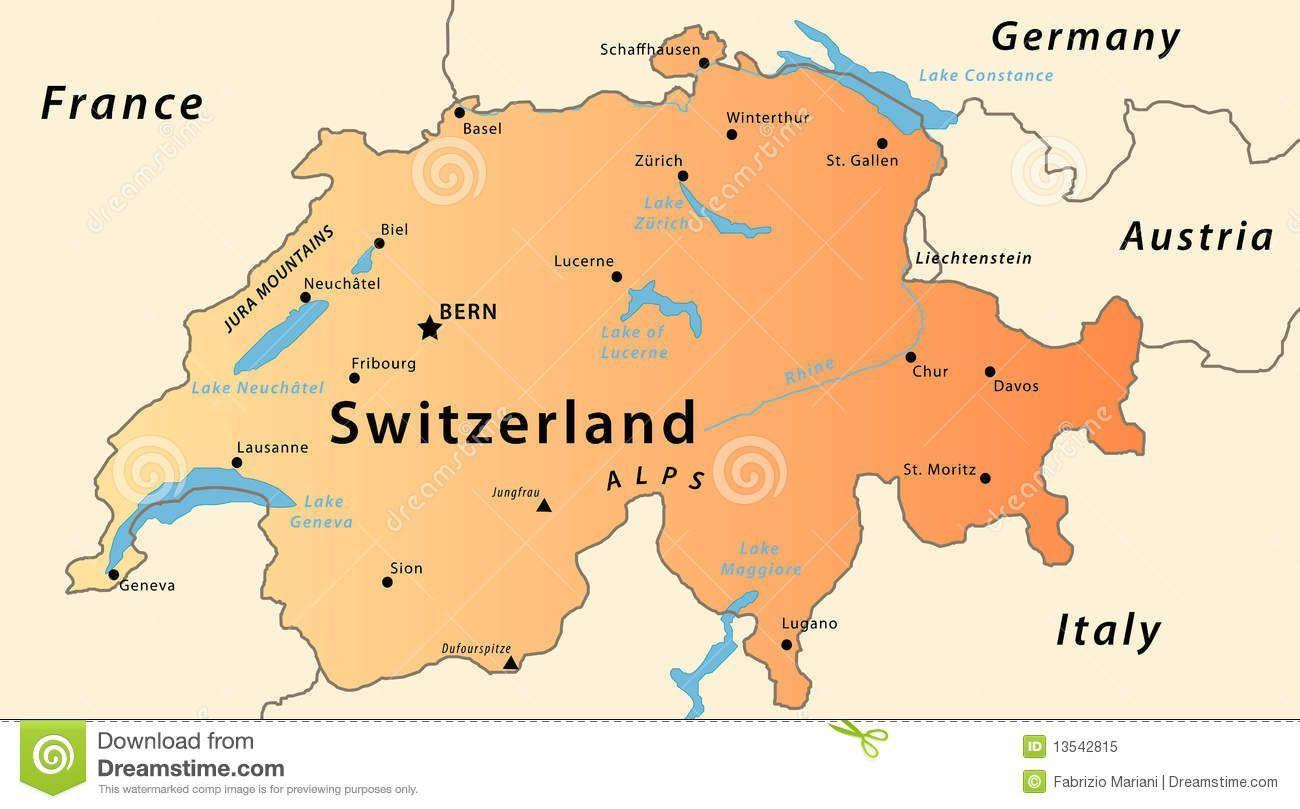 Map Met Bergen Zwitserland Google Search Zwitserland Bergen